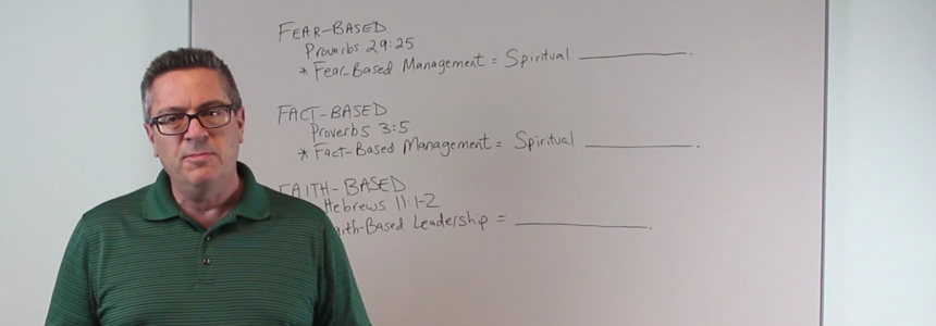 Faith Based Leadership