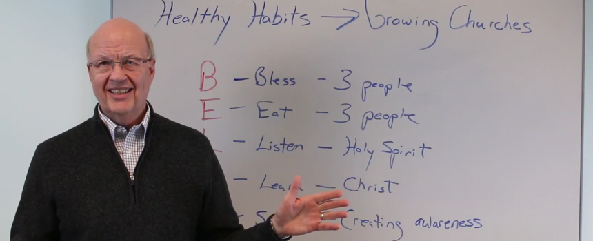 Habits for Missional Living: Behavior Matters