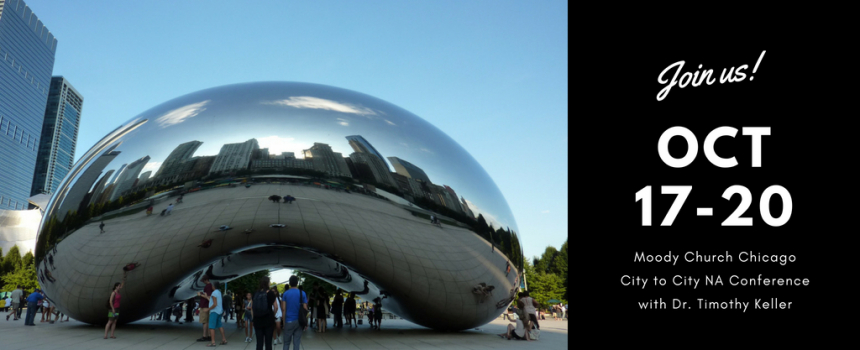 Join Us In Chicago for City to City North America
