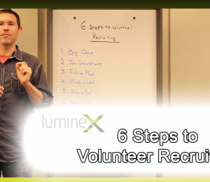 6 Steps to Volunteer Recruiting: White Board Wednesday Season 5: Episode 2