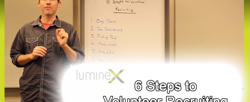 6 Steps to Volunteer Recruiting: White Board Wednesday Season 5: Episode 2