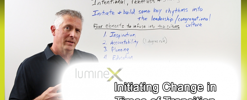 Initiating Change in Times of Transition – Whiteboard Wednesday season 4: episode 2