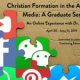 Christian Formation in the Age of Social Media