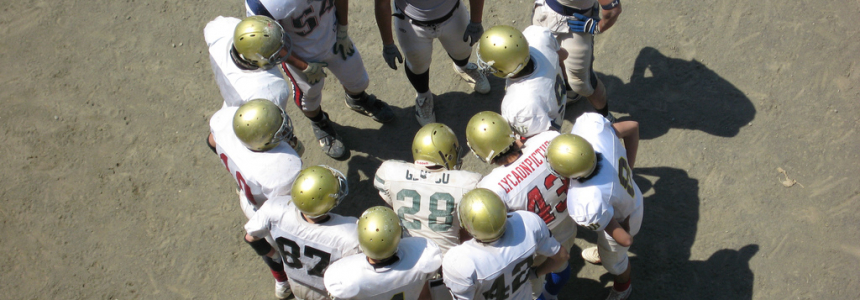 Get Out of the Huddle